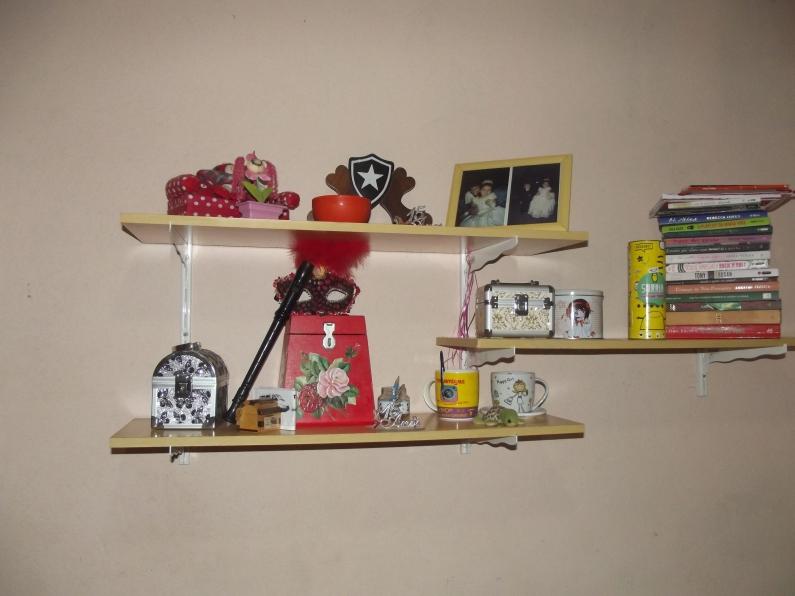 decoração estante 001