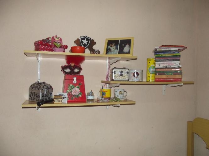 decoração estante 014