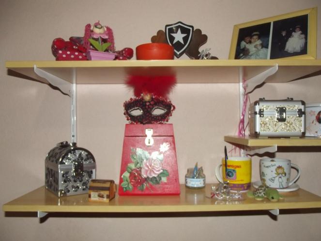 decoração estante 015